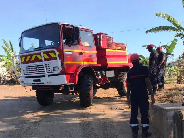 pompiers à Madagascar nosy be